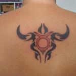 Идея татуировки Телец
