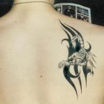 Татуировка  Скорпион