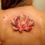 Новые идеи татуировки Лотос