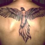 Уникальные идеи татуировок ангела