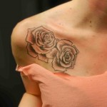 Женские татуировки роз